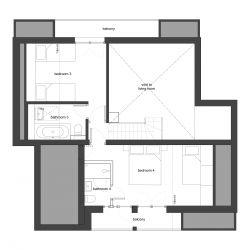 First Floor - Chalet l'Orbeye