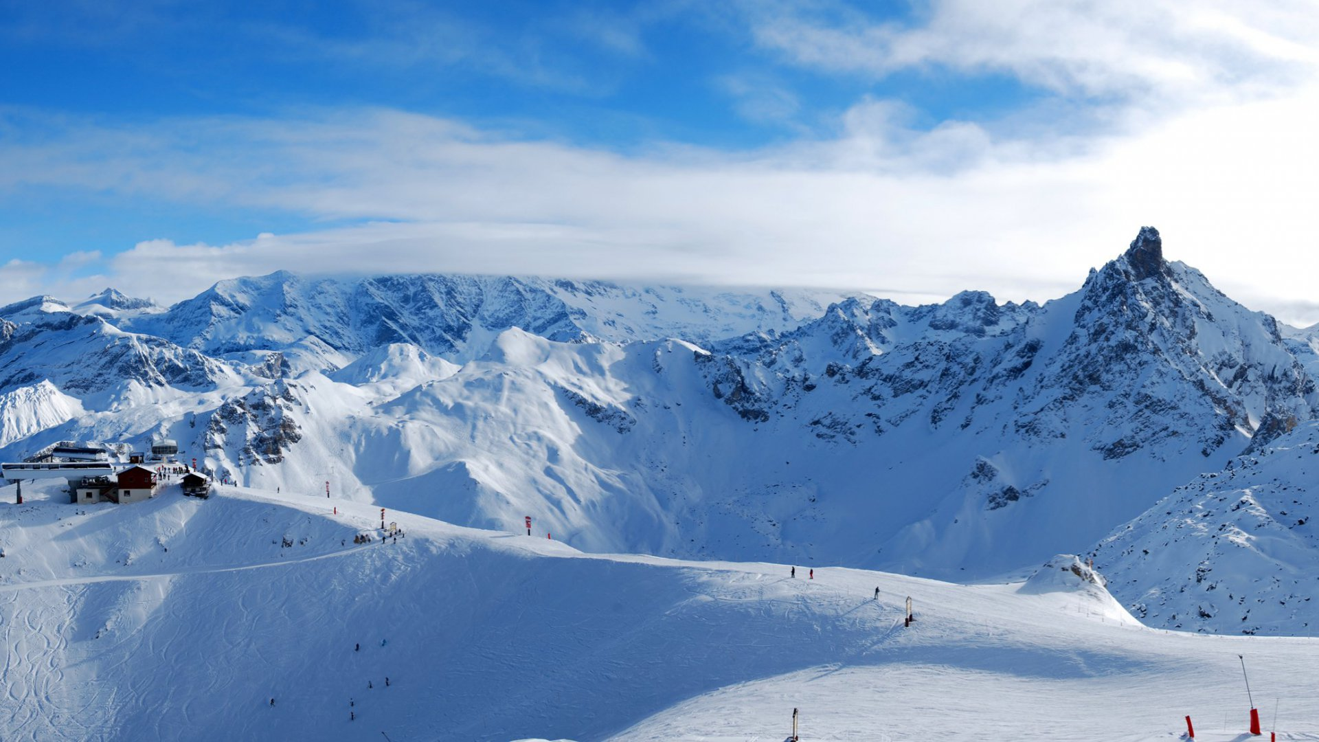 The Courchevel Ski Area